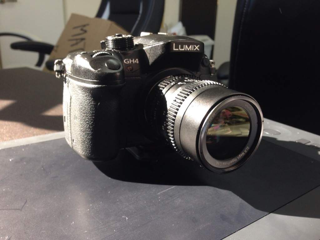GH4 SLR Magic 25mm T0.95 Hyperprime CINE